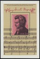 Block 62 Wolfgang Amadeus Mozart 1981, Postfrisch - Unclassified