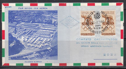 Italy - 1960 Airmail -17th Olympics Comorganizing Committee, Olympic Village Cover - Other
