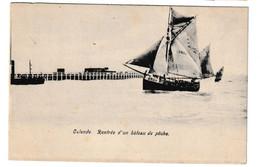 Oostende Vissersboot O22 Rentrée D' Un Bateau De Pêche - Oostende
