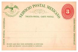 Mexique - Entiers Postaux - Mexiko