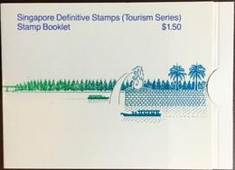 Singapore 1990 Tourism Definitives Booklet Unused - Singapur (1959-...)