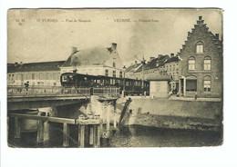 Veurne  19. FURNES - Pont De Nieuport   VEURNE - Nieuport-brug  (met Stoomtrein)  Marco Marcovici - Veurne