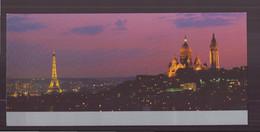 """Carte ( 23 X 10.5 Cm ) """" Paris """" Par Bruno De Hoques - Andere Fotografen"""