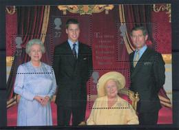 Great Britain 2000. HM Queen Elizabeth 100th Birthday - Block W. 4 Stamps (MINT) - Blocks & Miniature Sheets