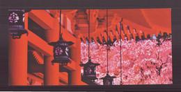 """Carte ( 23 X 10.5 Cm ) """" Temple Heian Au Printemps, Kyoto, Japon """" Par Shin Terada - Andere Fotografen"""