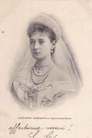 Alexandra Feodorowna - Impératrice De Russie - Familles Royales
