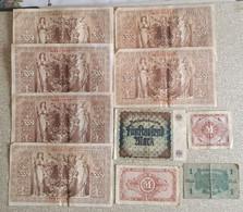 Allemagne Lot 22 Billets . 1903.1909.1910.1914.1922.1944. - Other