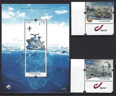 PORTUGAL - The Discover Of Antarctica - Mint Souvenir Sheet+stamps Series - 2021-06-16 - Unclassified