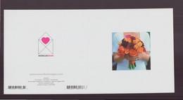 """Carte Carrée, à Plier ( 24 X 12 Cm ) """" Le Bouquet """" - Andere Fotografen"""