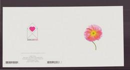"""Carte Carrée, à Plier ( 24 X 12 Cm ) """" Pavot Rose """" Par Cédric Porchez - Andere Fotografen"""