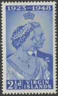 British Virgin Islands. 1938-47 Royal Silver Wedding. 2½d MH. SG 124 - British Virgin Islands