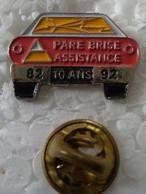 Pin's - Automobiles - PARE BRISE ASSISTANCE - 10 Ans - 82-92 - - Altri