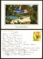 Seychelles Beach Nice Stamp  # 18660 - Seychelles