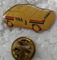Pin's - Automobiles - FINA 3 - Voiture De Rallye - - Altri
