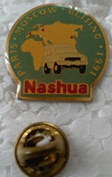 Pin's - Automobiles -  Sport Automobile - Rallye - NASHUA - PARIS - MOSCOU - BEIJING - 1991 - - Rallye