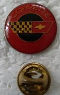 Pin's - Automobiles -  Corvette - Logo - - Corvette