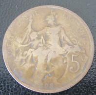 France - Monnaie 5 Centimes Dupuis 1898 - C. 5 Centimes