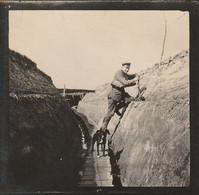 """Photo 14 18 Secteur Frelinghien, Verlinghem - Chemin De """"Bonin"""", Ligne Téléphonique ? Tranchée, Chien (A231, Ww1, Wk 1) - War 1914-18"""