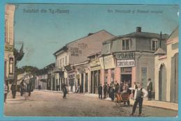 Salutari Din Tg.-Neamt. Str.Principala Si Ateneul Orosului. 1925 - Roumanie