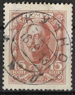 Russia 1913 15Kop Nicholas I. Mi 89/Sc 95. Kutno Postmark, Poland Warsaw Governorate, Кутно - Used Stamps