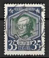 Russia 1913 35K Paul I. Mi 92/Sc 98. Kalisz Poland Postmark Калишь - Used Stamps