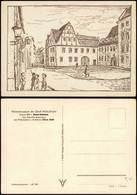 Halle (Saale) Künstlerkarte Heimatmuseum Der Stadt Halle/Saale 1959 - Non Classificati