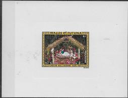 1981 Wallis Et Futuna N°PA 113 Nf**. MNH . Noël. Crèche Wallisienne. - Imperforates, Proofs & Errors