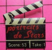 421 Pin's Pins / Beau Et Rare / THEME : CINEMA / CLAP DE CINEMA PORTRAITS DE STARS SCENE 53 TAKE 1 - Cinema