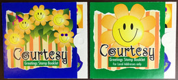 Singapore 1996 Courtesy Greetings Stamps Booklets Unused - Singapur (1959-...)