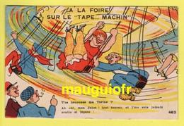 """HUMOUR / A LA FOIRE  SUR LE """"TAPE... MACHIN"""" / FÊTE FORAINE / MANÈGE / T'ES HEUREUSE MA TORINE ? ... - Humour"""