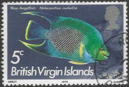 British Virgin Islands. 1975 Fish. 5c Used. SG 333 - British Virgin Islands
