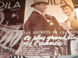 VOILA 36/ DUC WINDSOR /LA FOUCHARDIERE /ESPAGNE GUERRE/ TINO ROSSI /PECHE HONG KONG /VENISE VERRES /GEORGIUS - 1900 - 1949