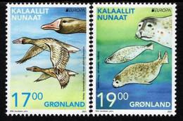 Greenland - 2021 - Europa CEPT - Endangered National Wildlife - Mint Stamp Set - Unused Stamps