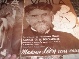 VOILA 36 /LA FOUCHARDIERE /FOLIES BERGERES  BAKER /ALPINISME GUIDE /PARISIEN FARGUE /GIRLS EARL CAROL/ECOLE TEST - 1900 - 1949