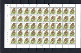 N°F2533 Fluor Buzin Drukdatumstrook 1.XII.94 Onpaar MNH ** POSTFRIS ZONDER SCHARNIER SUPERBE - 1985-.. Birds (Buzin)