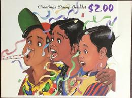 Singapore 1993 Greetings Stamps Booklet Unused - Singapur (1959-...)