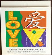 Singapore 1995 Greetings Stamps Booklet Unused - Singapur (1959-...)