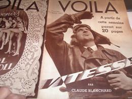 VOILA 36/ MALCOM CAMPBELL /TRAINS PIERRE HAMP (le Vésinet) /GEO LONDON CADAVRE /CHASSE ROGE /GIRLS EARL CAROLL/ANGUILLE/ - 1900 - 1949