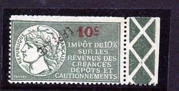 Fiscaux Impôt Sur Le Revenu N° 49 - Revenue Stamps