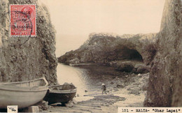Malte Malta - Ghar Lapsi, Vela Photo Carte Photo (surcharge Postage And Revenue) - Malta
