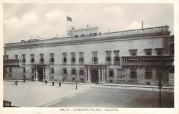 Malte Malta - La Valette Valletta - Governor's Palace (qualité Photo-carte R.P.) - Malta