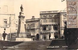 Malte Malta - Birgu Vittoriosa, Carte Photo Cassar Phot - Malta