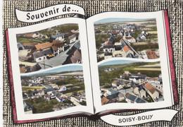 "SOISY-BOUY. ""Souvenir"" - Livre Ouvert - Other Municipalities"