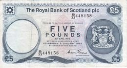 BILLETE DE ESCOCIA DE 5 POUNDS DEL AÑO 1983 (BANKNOTE) - 5 Pounds