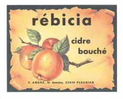 """Etiquette De Cidre Bouché  """"Rébicia"""" - Non Classés"""