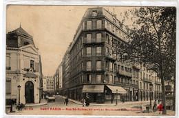 75-PARIS-RUE ST-SABIN- (XIe ARR) AU BOULEVARD-LENOIR-ANIMEE - Arrondissement: 11