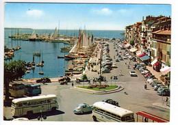 Autocar BERLIET, CHAUSSON, CITROEN 2 Cv, 2 Cv Fourgonnette, PEUGEOT 203, à Cannes - Passenger Cars