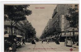 75-PARIS-AVENUE PARMENTIER-(Xe ET XIe ARR)- ANIMEE - Arrondissement: 11