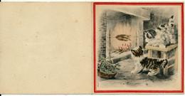 NAUDY, RENAUDIN - Carte De Voeux, Chats - Naudy