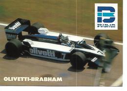 F1 - OLIVETTI - BRABHAM -  Championnat Du Monde 1986/1987 - Grand Prix / F1